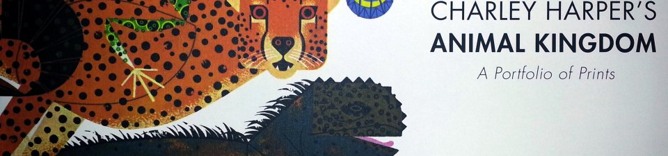 Charley Harper's Animal Kingdom Portfolio of Prints