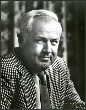 Black-and-white Photo of Charley Harper
