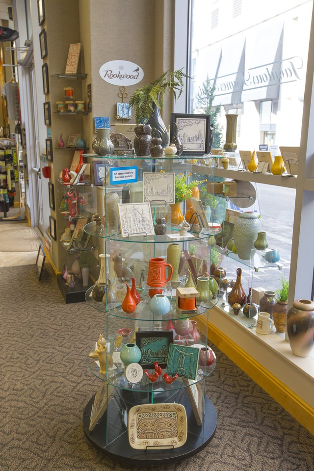 in-store Rookwood display